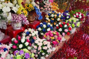 Columbia Street Flower Market