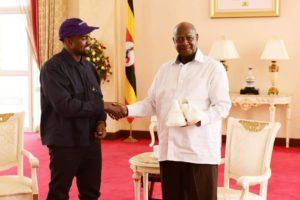 Kanye West Visit Uganda