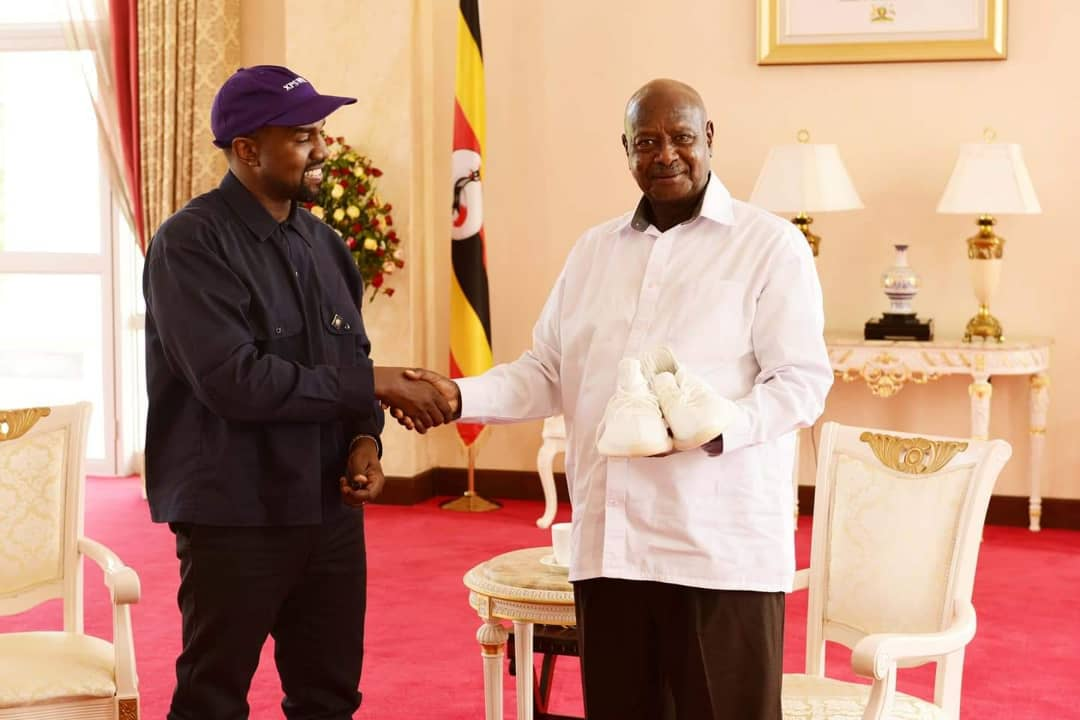 Kanye West Visits Uganda
