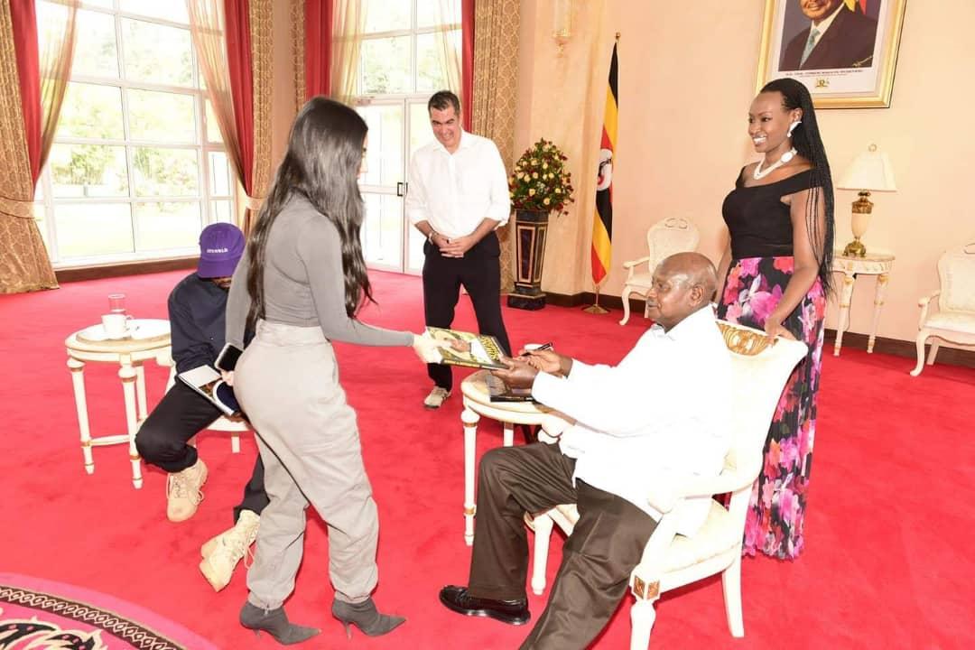 Kim Kardashian Visits Uganda