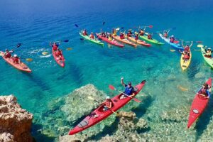 Sea Kayaking Spots